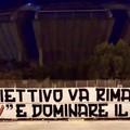 """Verso Foggia-Bari, striscione degli ultras con  """"sfottò """" ai rivali"""