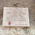 Una targa per celebrare i 110 anni del Bari. Petruzzelli: «Squadra forte elemento identitario»