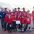 Il CUS Bari vince il titolo regionale di pattinaggio di corsa su pista