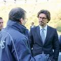 Toninelli a Bari, visita alla divisione marittima