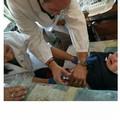 Bari, vaccinati i bambini del campo Rom di Santa Candida