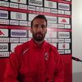 SSC Bari, parla Di Cesare: «Sembra tutto facile ma non lo è. Goal? Li faccio per la squadra»