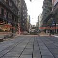 Restyling Via Sparano, entro il 6 dicembre completati quattro isolati