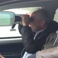 Bari, agenti della Polizia locale in servizio col binocolo. Già 42 multe elevate
