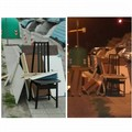 Bari-Loseto, mobili e complementi d'arredo abbandonati davanti ai cassonetti