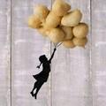 """""""Se Banksy fosse nato in Puglia """", nasce così la bambina con le pettole"""