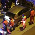 Bari, incidente in via Crisanzio. Pedone schiacciato fra auto e impalcatura