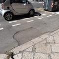 Bari, pista ciclabile in corso Vittorio Emanuele a rischio caduta?