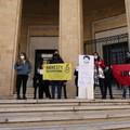 Bari, un sit-in per chiedere la scarcerazione di Patrick Zaki