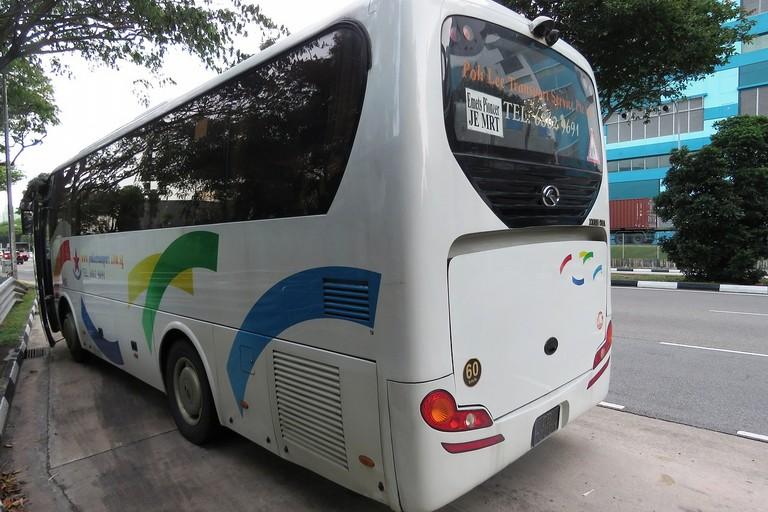 Un bus turistico