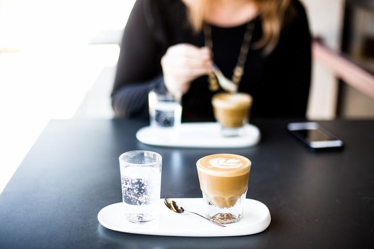 Caff al bar