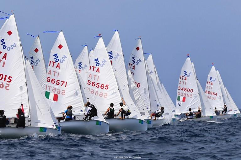 campionati giovanili vela in doppio. <span>Foto Elena Giolai</span>
