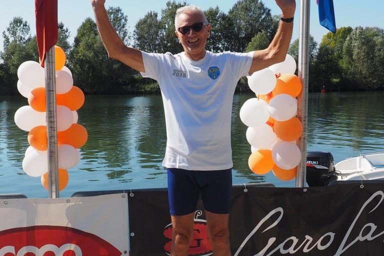 Canottaggio Cristoforo De Palma campione italiano Master in tipo regolamentare credit M Ustolin canottaggio org JPG. <span>Foto M.Ustolin-canottaggio.org</span>