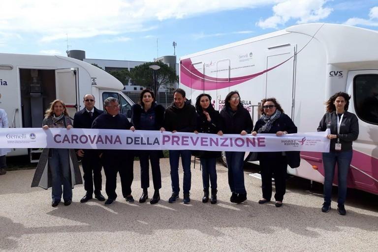 Petruzzelli e Zullo alla Cavovana della prevenzione