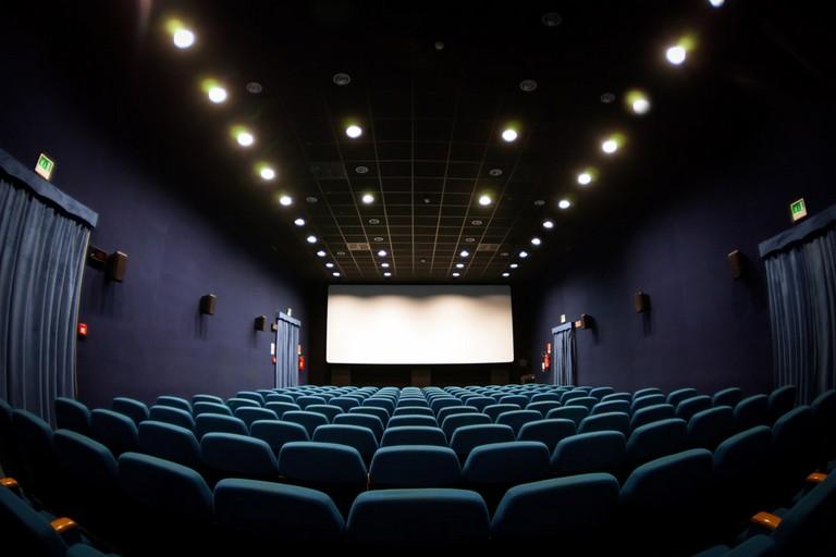 Il cinema Il Piccolo. <span>Foto Pino Maffei</span>