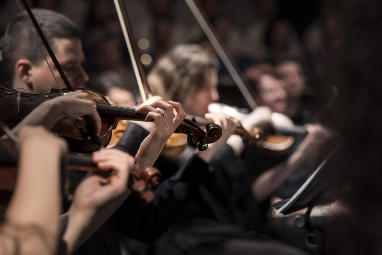 Un concerto di musica classica