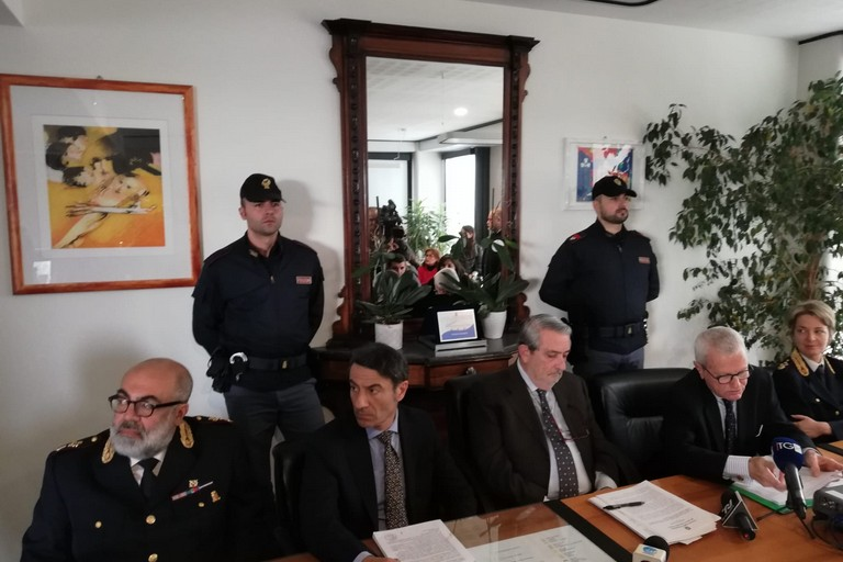 conferenza stampa arresto piumelli omicidio margherita