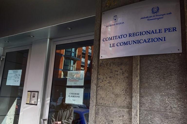 La sede del Corecom