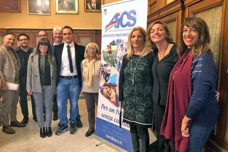 Costruendo futuro presentato il progetto Aics Bari