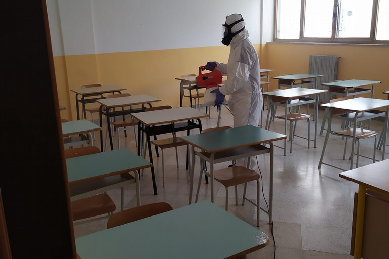 covid scuola sanificazione coronavirus