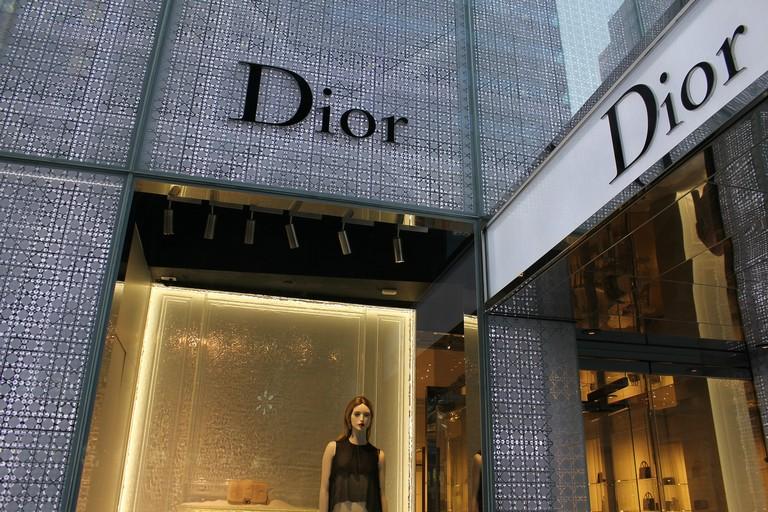Un negozio Dior
