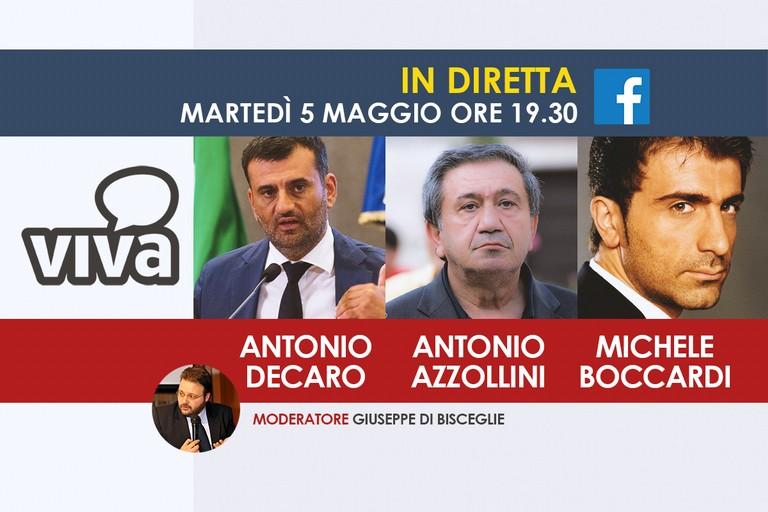 Diretta con Decaro, Azzollini e Boccardi