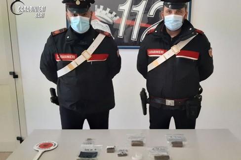droga carabinieri bari JPG