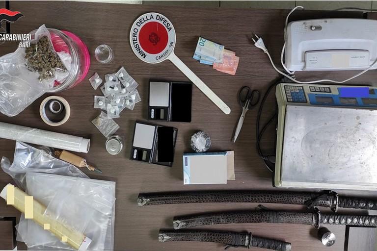 droga carabinieri santeramo JPG