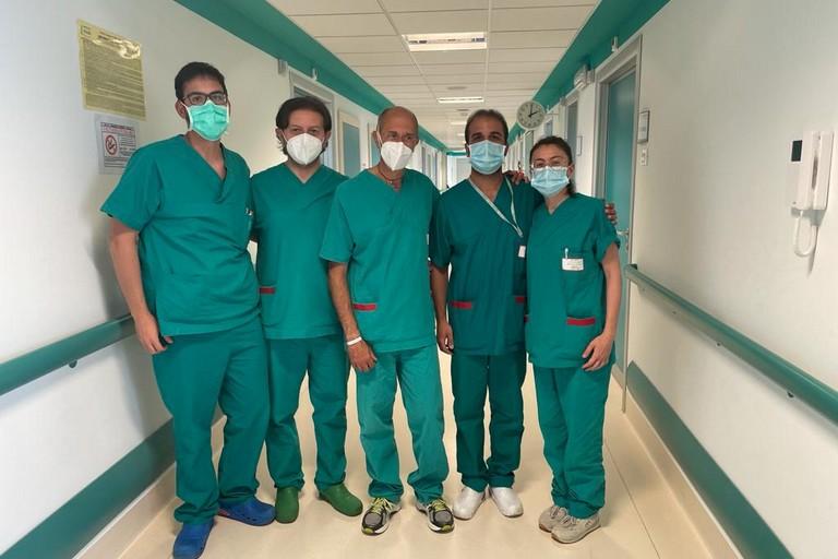 Equipe chirurgia vascolare Po Di Venere
