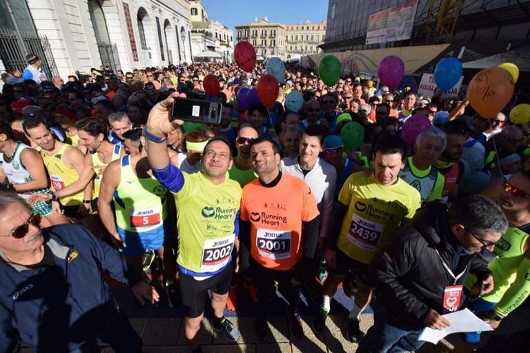 La Running Heart a Bari