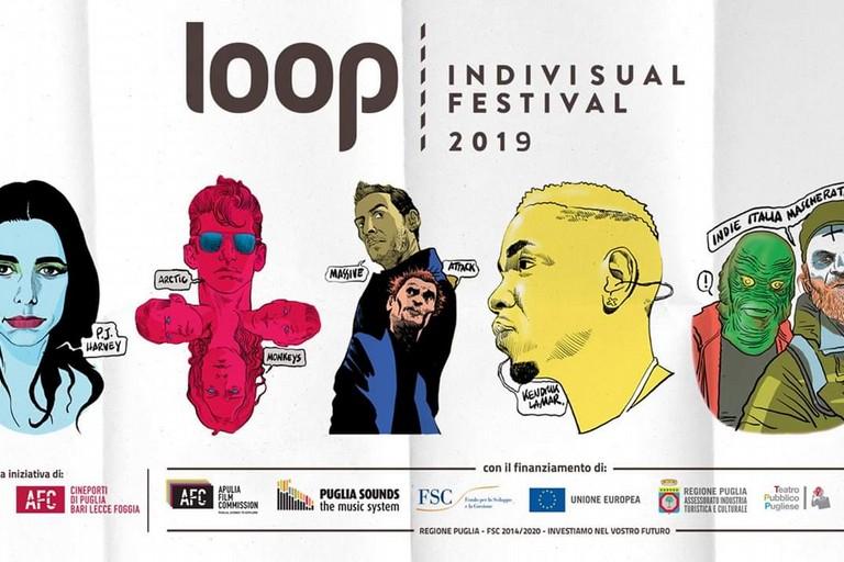 La locandina del Loop Festival