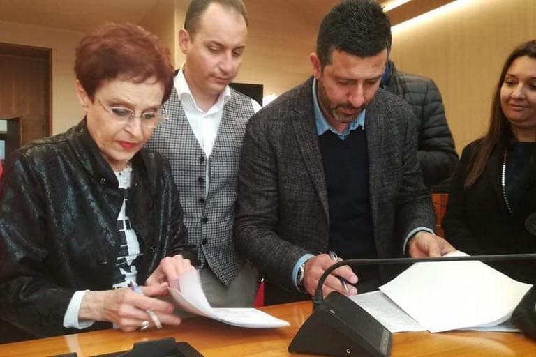 La firma