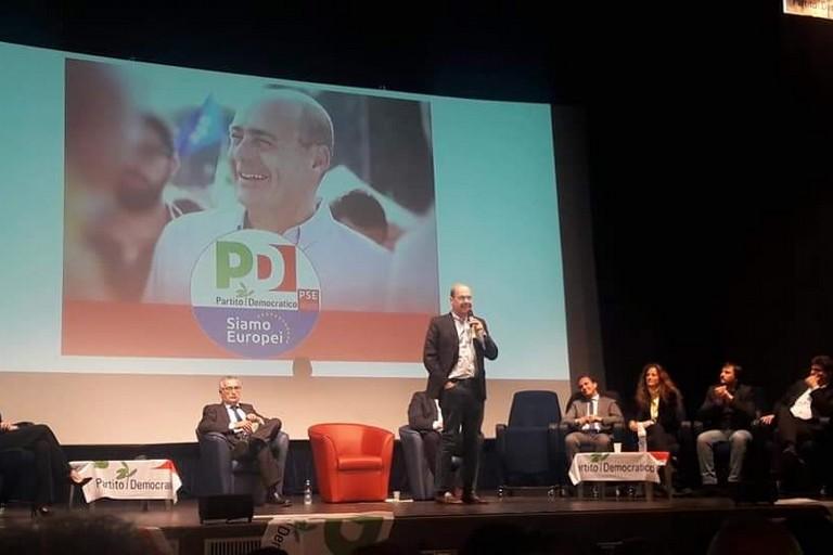 Nicola Zingaretti a Bari