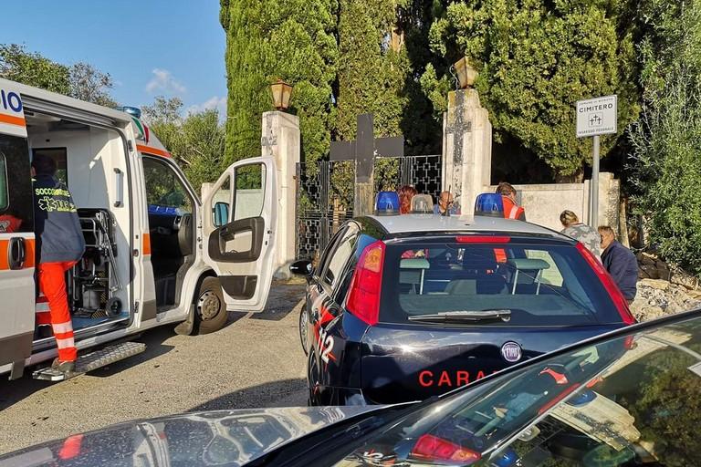 I carabinieri a Bitritto. <span>Foto Bitritto Live</span>
