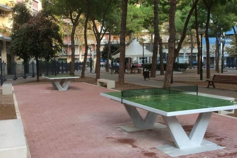 Tavoli Da Giardino Bari.Bari Arrivano I Tavoli Da Ping Pong Nel Giardino Della Chiesa Russa