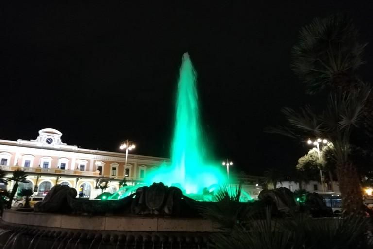 fontana piazza moro verde