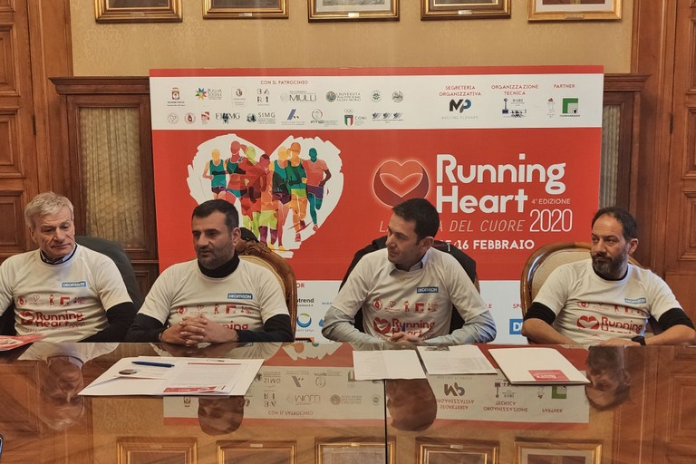 foto conferenza stampa Running Heart