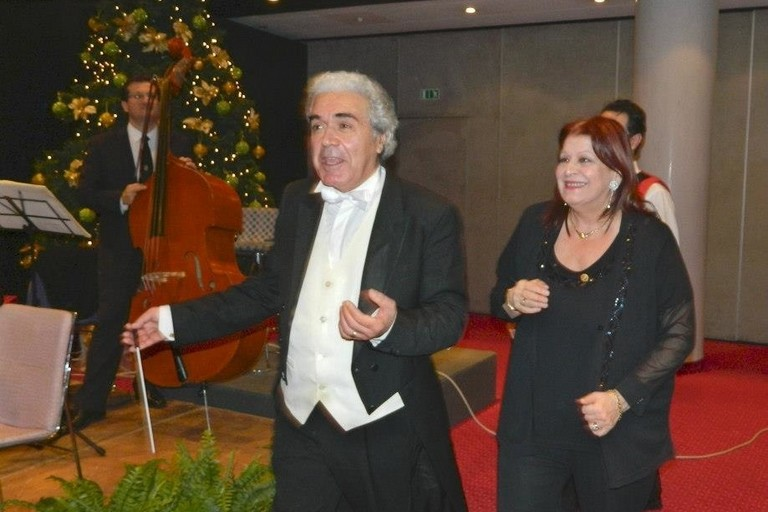 Francesco Lentini e Angela Montemurro