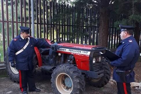 furti mezzi agricoli