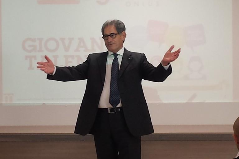 Il presidente Giovanni Pomarico