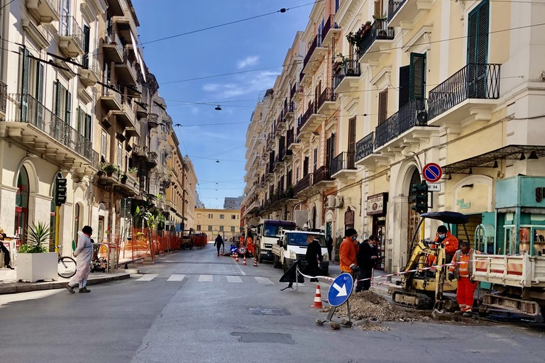 I lavori a Bari