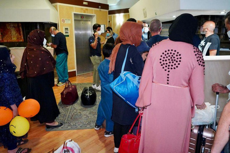 I profughi afgani arrivati a Bari