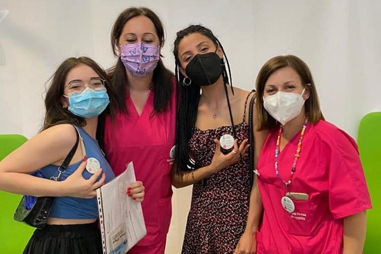 I vaccini ai maturandi in Fiera a Bari