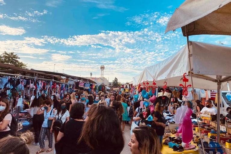 Il mercato di via Portoghese