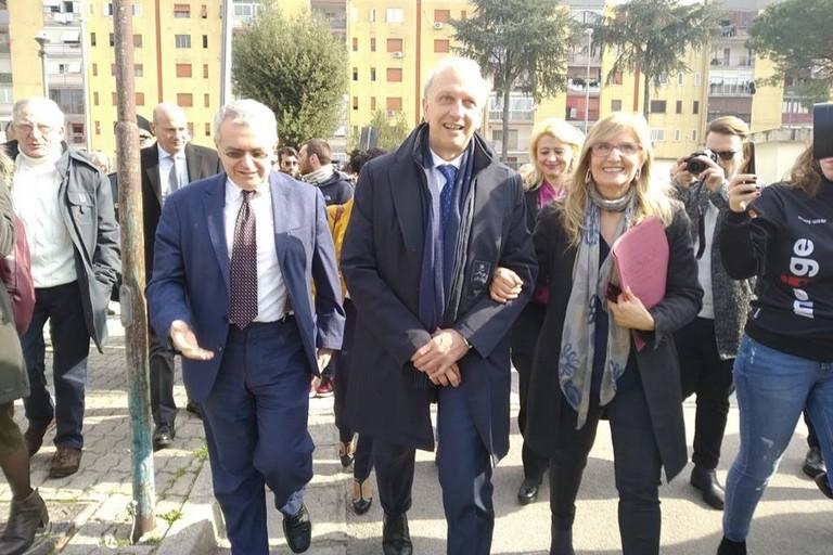Il ministro Bussetti