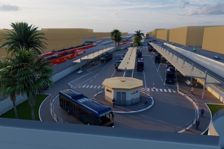 Il rendering del terminal bus
