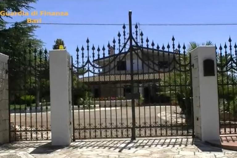 Il sequestro di beni in provincia di Bari
