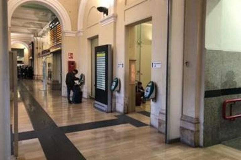 La stazione di Bari Centrale