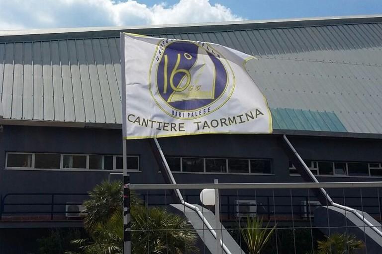 La bandiera di Taormina