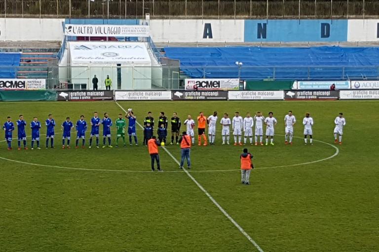 Il Bari vince l'amichevole di Andria. <span>Foto Antonio D'Oria</span>
